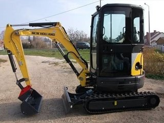 Мини-экскаватор New Holland E26B SR